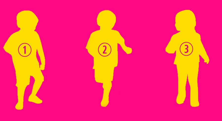 Test: ¿Cuál es la silueta de una niña?