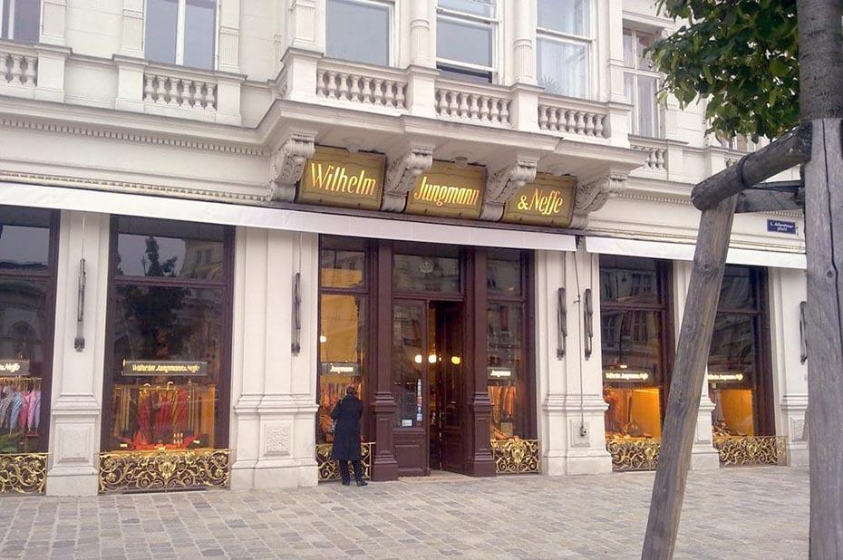 Fabric Stores in Vienna: Jungmann Wilhelm & Neffe