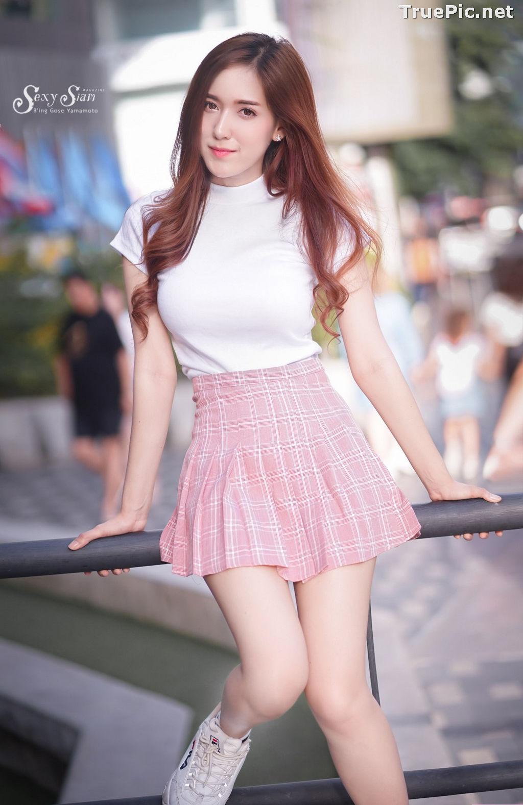Image Thailand Model - Jarunya Boonya - Pink Love Love Love - TruePic.net - Picture-1