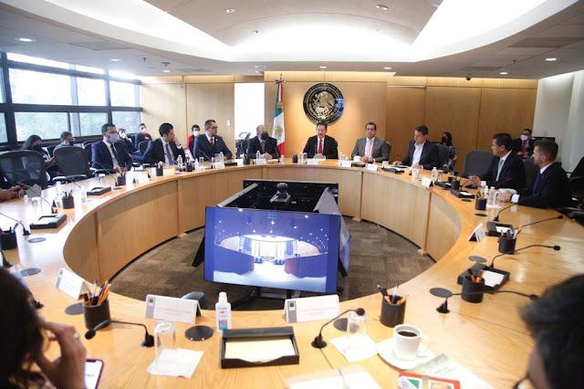 Rubén Moreira Valdez (PRI) preside la Junta de Coordinación Política para el Primer Año de Ejercicio de la LXV Legislatura