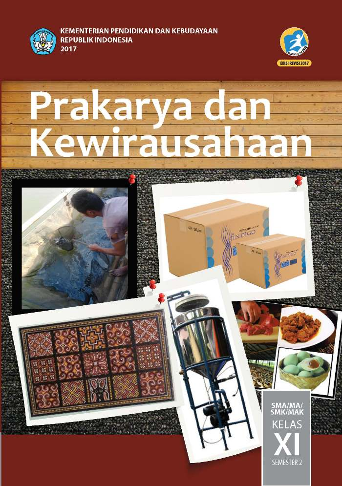 Buku Siswa SMA/MA Kelas XI Prakarya dan Kewirausahaan Semester 2