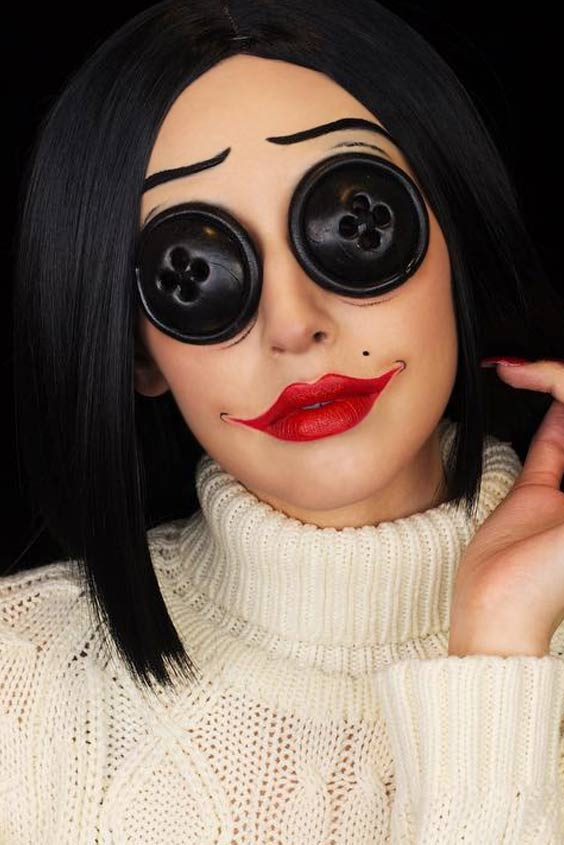 2629 Maquillaje Para Halloween Labores En Red - Maquillaje-halowin