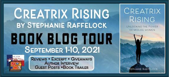 Creatrix Rising book blog tour promotion banner