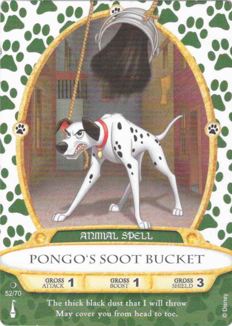 Pongo's Soot Bucket Sorcerer's of the Magic Kingdom Spell Card 52 of 70