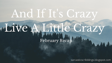 And If It's Crazy, Live A Little Crazy // February Recap