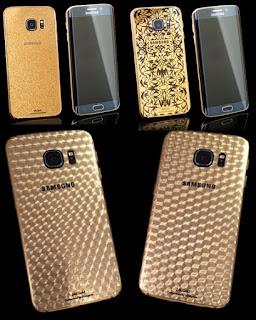 Samsung Galaxy S6 Edge Dengan Balutan Emas 24 Karat