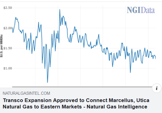 https://www.naturalgasintel.com/transco-expansion-approved-to-connect-marcellus-utica-natural-gas-to-eastern-markets/?fbclid=IwAR2owUsmAvYoDHEnii5u5Y6whfnQU2ymm90hyNnvchkZKc0xe8fDQZJg6Bw
