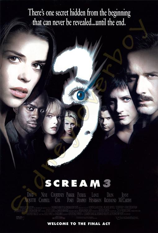 quick horror movie reviews scream 3