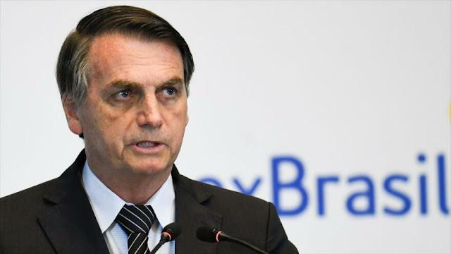 Bolsonaro expresa su apoya a política represiva de Piñera en Chile