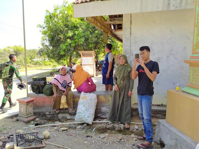 Kodim Sragen - TMMD Selesai Warga Desa Baleharjo Merasa Kehilangan