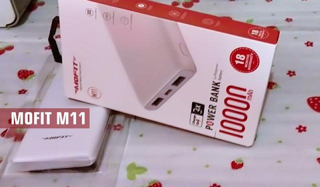 Powerbank MOFIT M11 10000mah