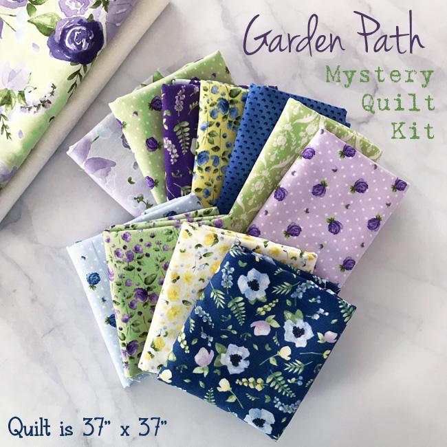 Garden Path Mystery Quilt Sew Along