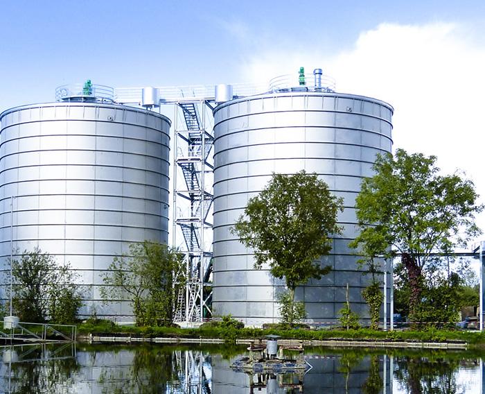 Reactores de mezcla completa (CSTR) de gran tamaño
