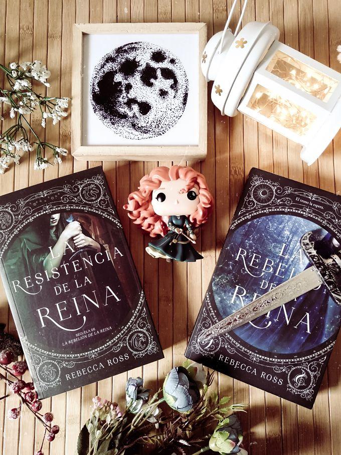 Foto del libro La resistencia de la reina de la autora Rebecca Ross