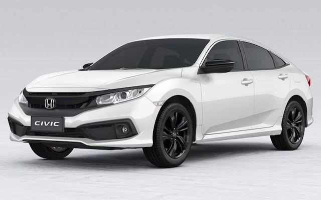 Novo Honda Civic Sport 2020