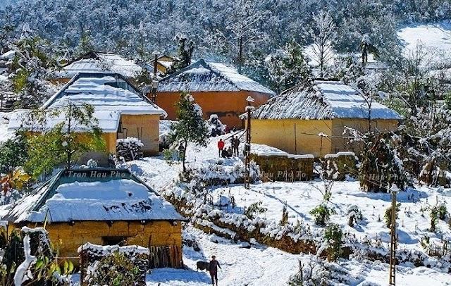 """Kin Chu Phìn - Ngôi làng """"nhà nấm"""" như trong chuyện cổ tích"""
