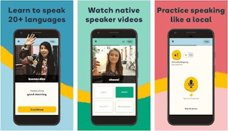 Aplikasi belajar bahasa inggris offline - memrise