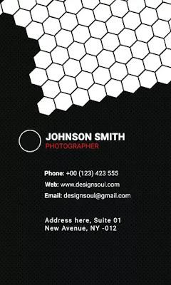 100 Business Card PSD Design (Visiting Card PSD)