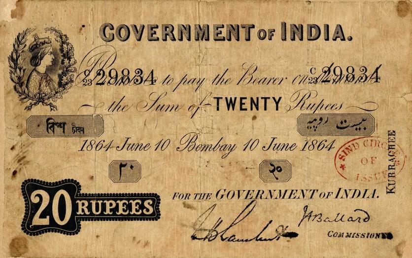 Sejarah Penciptaan dan Penggunaan Uang Sebagai Alat Bayar yang Sah uang kertas kuno India