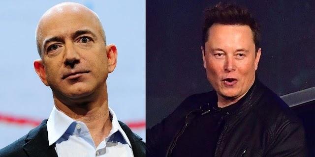 Jeff Bezos y Elon Musk rompen récords entre los más ricos del mundo