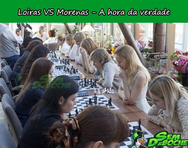 LOIRAS VS MORENAS - A HORA DA VERDADE!