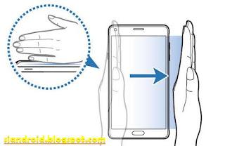 Cara screenshot HP Galaxy S6 dengan 2 Metode