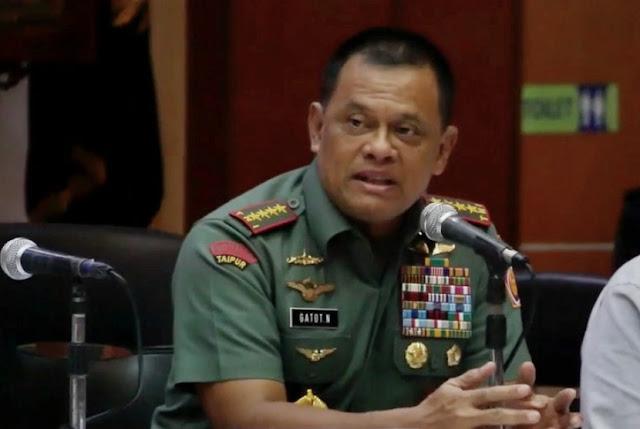 "Jenderal Gatot: Soal Senjata Itu ""Proxy War"", Coba-coba Adu Domba TNI dan Polri"
