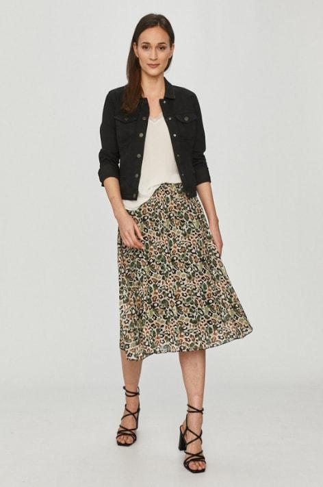 Only - Geaca jeans neagra ieftine de femei