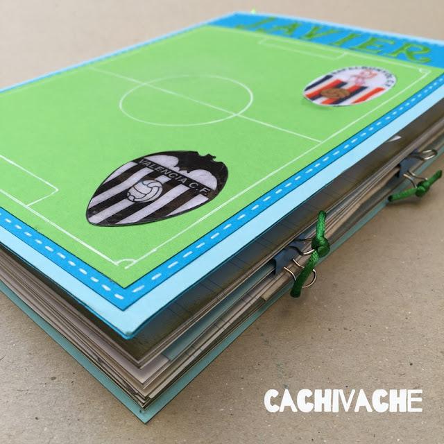 Cuaderno creativo de mis equipos de fútbol