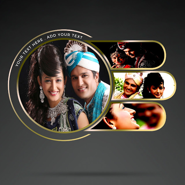Magic PSD Templates For Weding Album Free Download