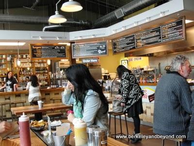 interior of Wurst restaurant in Healdsburg, California