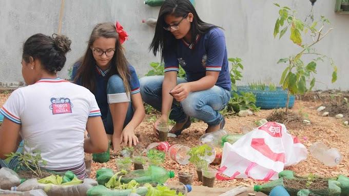 Estudantes da rede estadual participam de ações na Semana do Meio Ambiente