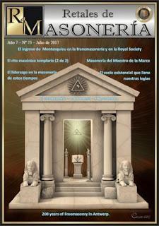 Retales de Masonería 73 – Junio 2017