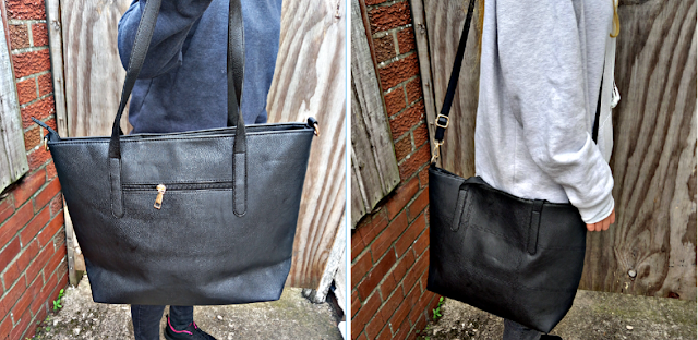 Wynsors Cube Black fashion handbag