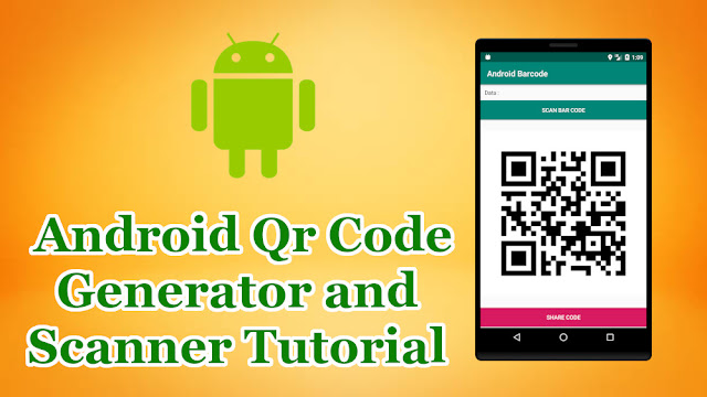 Qr Code Generator and Scanner in Android