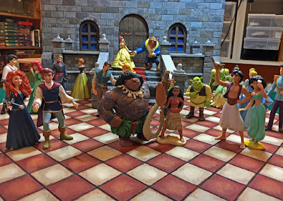 Miniature Warfare: Disney Princesses's Dance Hall: Let Them