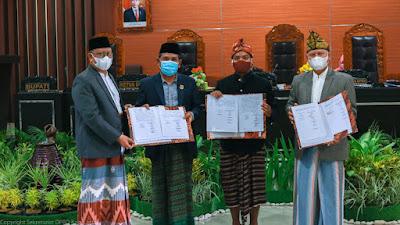 Legislatif dan Eksekutif Lombok Timur Sepakati KUA PPAS APBD Perubahan Tahun 2021