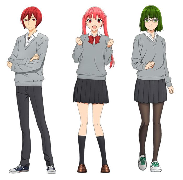 Horimiya anime - reparto
