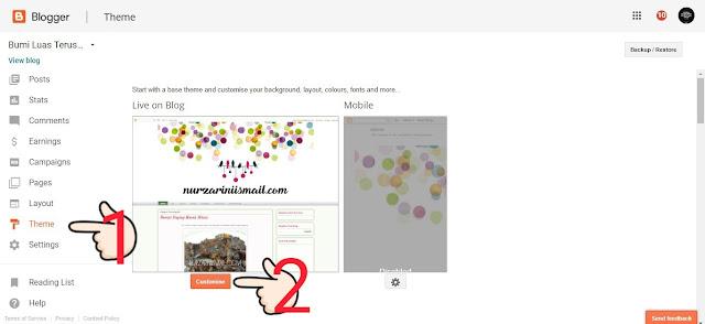 Cara Letak Tulisan Widget ke Bahagian Tengah Dengan CSS / Tanpa Edit HTML