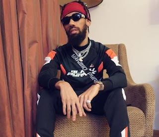 'Imagine This Tribal Fool' - Phyno Replies Twitter User for Saying he had a Disappointing Year