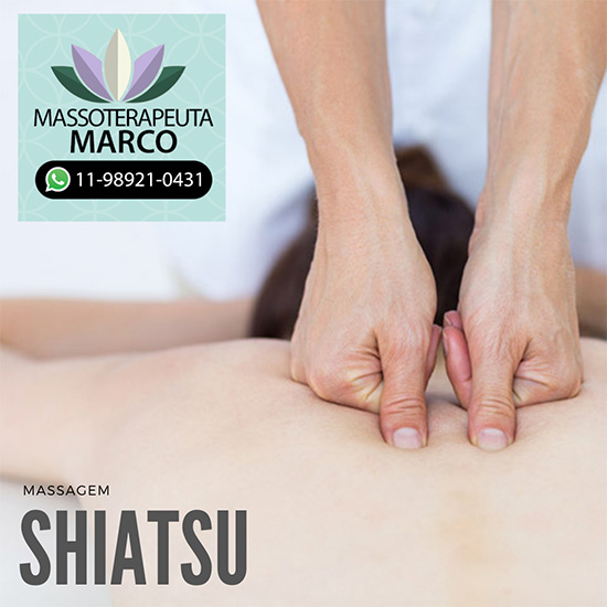 Massagem Shiatsu na zona norte