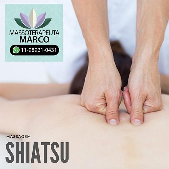 Massagem Shiatsu na zona norte
