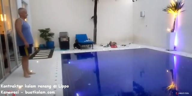 kontraktor kolam renang di lippo karawaci