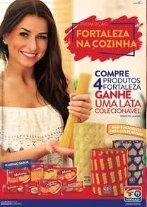 Promoção Fortaleza na Cozinha Compre Ganhe Lata Colecionável