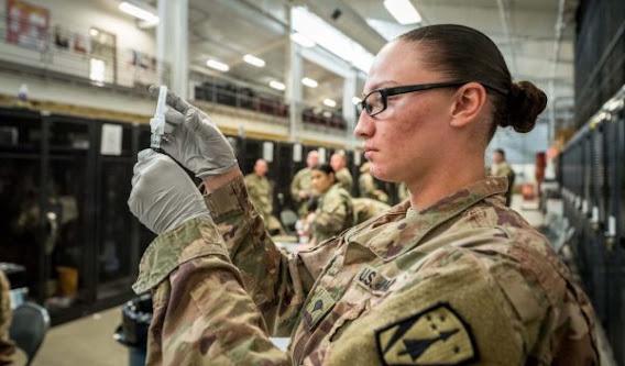 CIA Military vaccines contracting coronavirus accountability Warp Speed medicine healthcare
