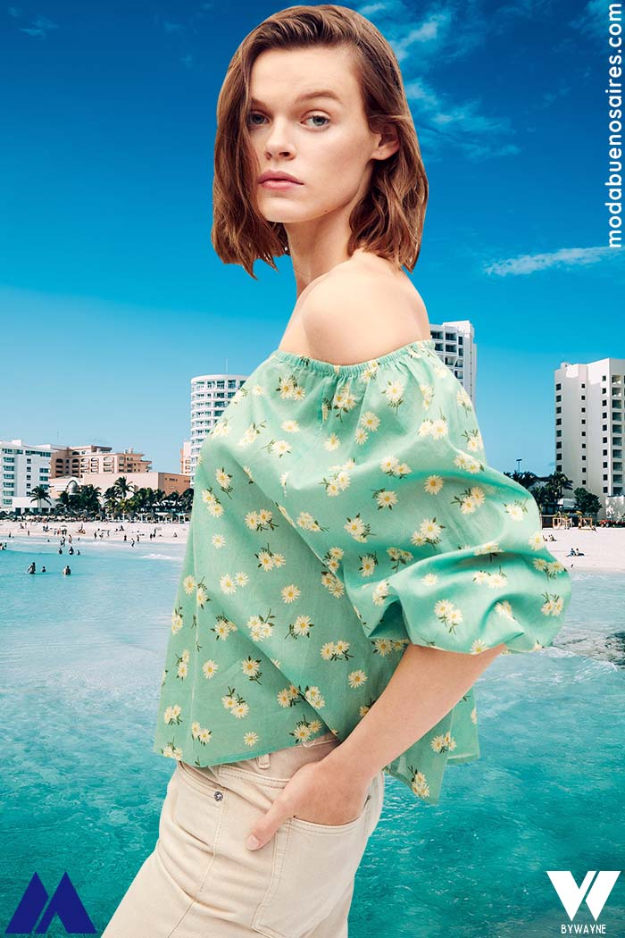 blusa paisana moda verano 2022