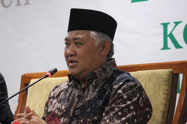 Din Syamsuddin: Ceramah Berpedoman Pada Qur'an dan Hadits, Bukan Pada Pemerintah