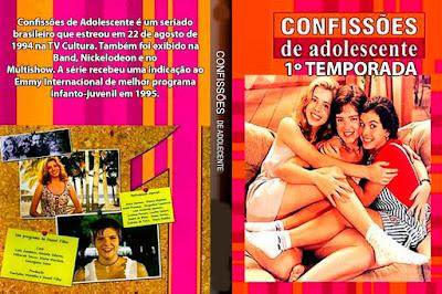 Seriado Confissões de Adolescente 1º Temporada DVD Capa