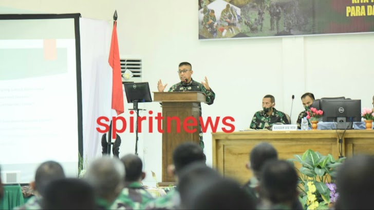 Apel Dansat Tersebar Kodam Hasanuddin Resmi Ditutup
