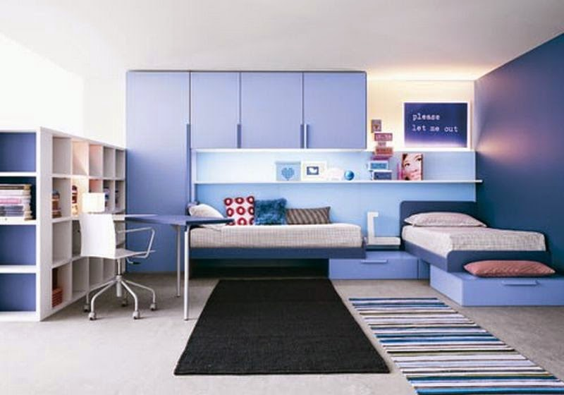 35 Dormitorios color AZUL : DORMITORIOS